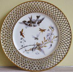 Bekijk dit items in mijn Etsy shop https://www.etsy.com/nl/listing/268190891/fischer-and-mieg-bohemian-porcelain