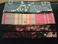 My lululemon headband collection