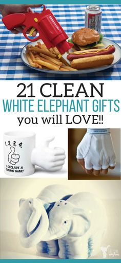 White elephant gifts that are clean and funny! Perfect white elephant gifts for your family party that everyone will get a laugh out of! # white elephant Gift Ideas 21 CLEAN White Elephant Gifts You Have to Try - Uplifting Mayhem Gag Gifts Christmas, Christmas Humor, Christmas Fun, Holiday Fun, Christmas Parties, Holiday Ideas, Xmas, Christmas Baking, White Christmas