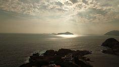 Faro, Puesta De Sol, Sunrise, Cielo, Mar