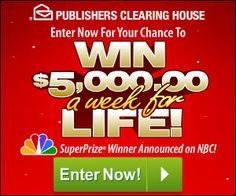 Enter to Win PCH Sweepstakes - Bing images