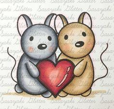 Sasayaki Glitter Challenge Blog Digital Stamps, Copic, Snoopy, Challenges, Glitter, Projects, Blog, Animals, Design