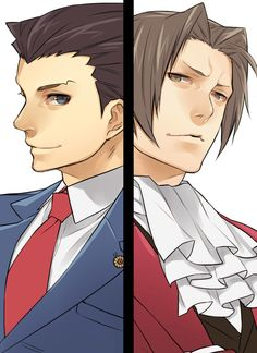 Wrightworth / Phoenix Wright & Miles Edgeworth | Ace Attorney