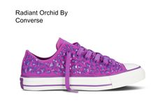 Pantone Colour of the Year 2014 Radiant Orchid - Converse Shoe Design