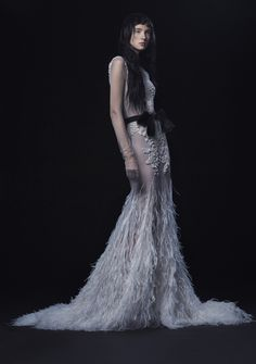 Vera Wang Dark and Sultry Wedding Dresses for Fall 2016