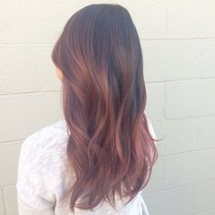 Rose Gold Ombre. |