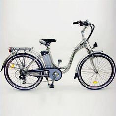 Cyclamatic GTE Step-Through Electric Bike with Lithium-Ion Battery $899.99