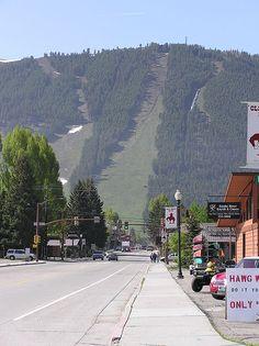 Main Street, Jackson Hole, Wyoming by astewartf, via Flickr