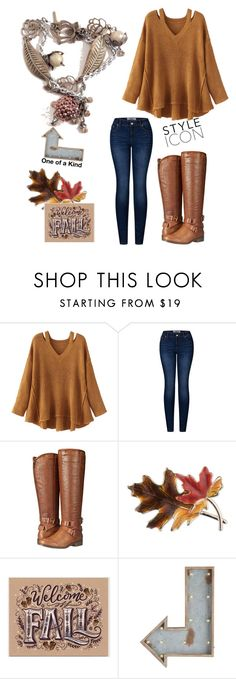 """""""Fall"""" by klhcollection on Polyvore featuring WithChic, 2LUV, Madden Girl, Anne Klein and Pier 1 Imports"""