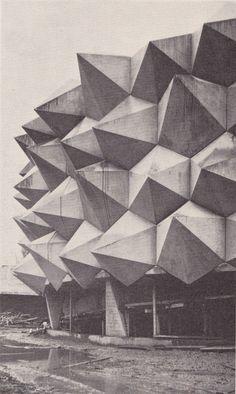Swiss National Exhibition of 1964 in Lausanne from Schweizerische Polierzeitung, the Swiss Construction Foremen Magazine.
