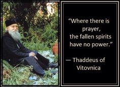 Thaddeus of Vitovnica on Prayer