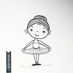 Ballet  #365doodleswithjohannafritz #mystaedtler #kidlitart  #dailysketch #sketching #dailydoodle #doodleaday #drawdaily #artistsoninstagram #characterdesign #inkstagram #iamcreative #instaoftheday #instagallive #illustratorsoninstagram #illustrationdaily #illustrationoftheday #ballet #primaballerina #ballett #tutu #kinderballet by katelein