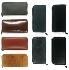 ZIP WALLET / Men's Accessory
