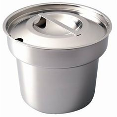 Bain Marie Pot and Lid 18/8 stainless steel. 4 litre 7 pint capacity. by Vogue. $67.42. Bain Marie pot with 7 pint capacity. Comes with a notched lid.