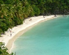 The beaches in St. John are amazing!