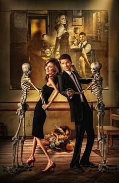 Bones? This is funny csi is ok but this show was funnier I lost interest though
