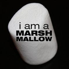 i am a marshmallow (Veronica Mars)
