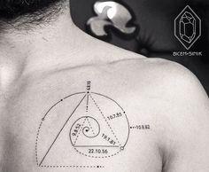 Tattoo - Le nombre d'or kordinat