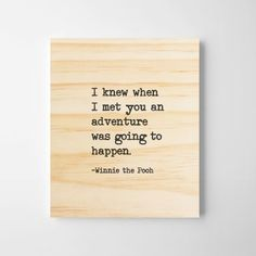 -Winnie the Pooh DETAILS ---------------- Rustic Wall Art, Wall Art Decor, Nursery Decor, Framed Quotes, Sign Quotes, Wooden Signs With Sayings, Romantic Gifts For Her, Winnie The Pooh Quotes, Wooden Art