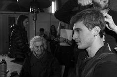 Clement Chabernaud | Backstage F/W 2015 080 Barcelona Fashion Week.