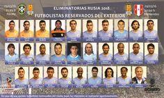 Guillermo Varela, Matías Vecino y Diego Laxalt son las novedades en los jugadores reservados por Tabárez. March 04, 2016.