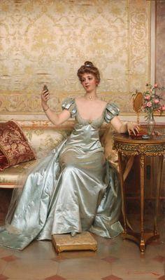 İtalyan sanatçı Frederic Soulacroix (1858 - 1 933)