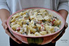 Ensalada de patatas    Comparterecetas.com