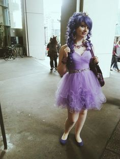 Lumpy Space Princess (Adventure Time) cosplay by xDFx