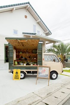 Japanese Sandwich, Coffee Food Truck, Coffee Van, Mobile Catering, Small Cafe Design, Mobile Shop, Box Houses, Vans Shop, Cafe Food