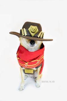 McCree Doge by @Outside_the_Vox