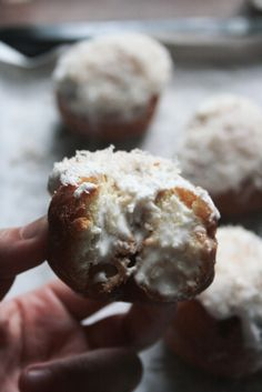 Coconut Tres Leches Doughnuts ~ Notions & Notations of a Novice Cook
