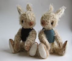 mohair rabbits by fox and owl