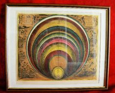 20131 $9999 or best offer - Harmonia Macrocosmica printed 1962 - framed - very rare - free shipping worldwide or pick up in sarchi costa rica. not a print c