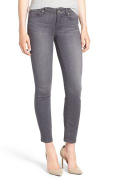 Grey Ankle Jeans