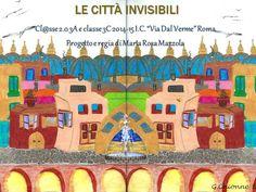 Copertina Le città invisibili