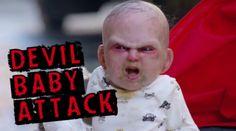 Djävulsbebisen anfaller New York - Total Panik! - Obsid - För Bättre Män!