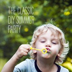 The Classic DIY Summer Party