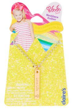Love Life JoJo Siwa Pendant Necklace
