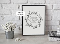 Quote about mum and dads family love. Original gift for birthdays, anniversaries, mothers day, fathers day . Ways To Propose, Personalized Gifts, Handmade Gifts, Family Love, Fabric Art, Fathers Day, Printing On Fabric, Mothers, Birthday Gifts