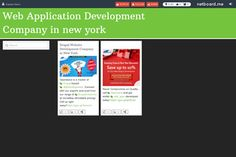 Check out the Web Application solutions & tips to keep future web development trends! Web Application Development, Web Development, New York, New York City, Nyc