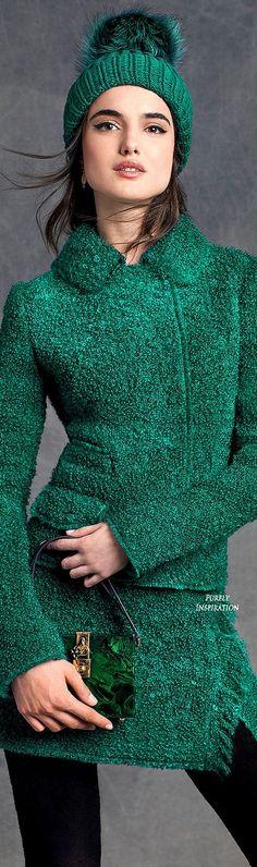 Winteroutfit in Kaltem Mittelgrün (Farbpassnummer 31) Kerstin Tomancok / Farb-, Typ-, Stil & Imageberatung