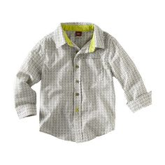 Tea Collection Banyan Dot Button Shirt