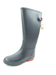 Stylish Womens Rain Boots Women's Water Shoess High Leg With Cute Pattern Tyc031 >>> You can get additional details at the image link.