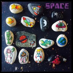 Story stones - space set