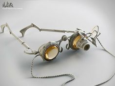 Steampunk glasses by Mark Zhigman