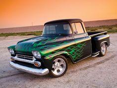 Green Flame...