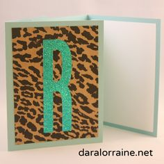 Hammered Leopard Collection — DARA LORRAINE Have this set personalized with the initial of your choice.