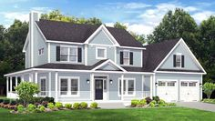 House Plan 54031 | Traditional    Plan with 2102 Sq. Ft., 3 Bedrooms, 3 Bathrooms, 2 Car Garage