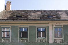 Dit staat bekend als de ogen van Sibiu (Roemenie)