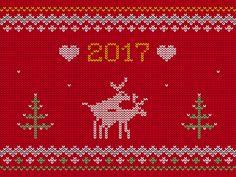 Happy 2017 New Year! by Toondra #Design Popular #Dribbble #shots